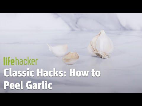 The 100% Proven Method For Peeling Garlic Cloves 🙄