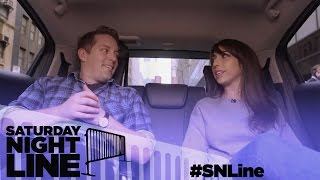 Saturday Night Line: SNL's Beck Bennett Relaxes with Fans