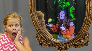 Assistant Magic Mirror Scavenger Hunt with PJ Masks and Puppy Dog Pals
