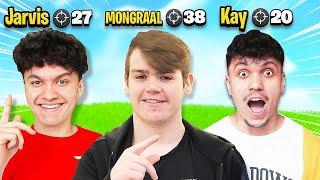 Most Kills Wins $10,000 (FaZe Mongraal Vs FaZe Jarvis Vs FaZe Kay)