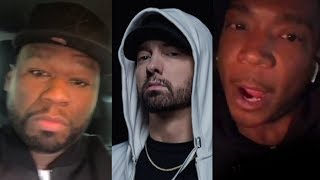 """Ja Rule Responds To Eminem Dissing Him On 'Killshot'.. """"You're A Clout Chaser"""" + 50 Cent Reacts"""