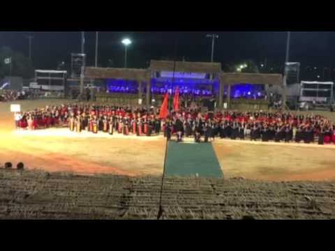 FESTPAC opening: Guam is entering the Stadium :People go wild!