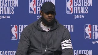 LeBron James Postgame Interview - Game 5 | Cavaliers vs Celtics | 2018 NBA East Finals
