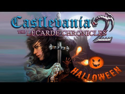 Halloween Jugando al Castlevania Lecarde Chronicle 2 Homebrew