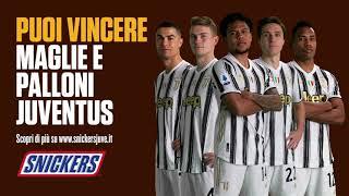 Snickers & Juventus Promo - Non sei più tu quando hai fame.
