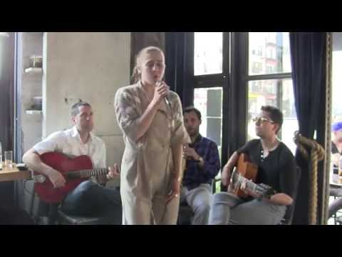 Live Gypsy jazz performance in NYC.
