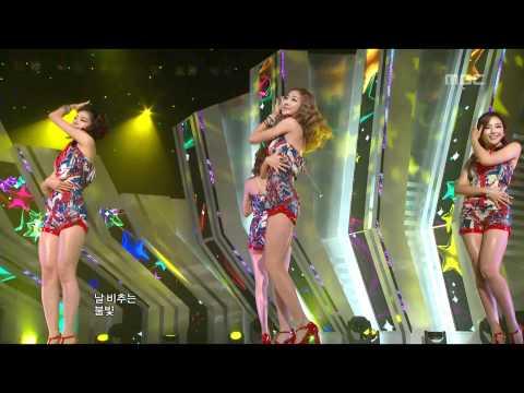 음악중심 - Dal Shabet - Bling Bling, 달샤벳 - 블링 블링, Music Core 20110910