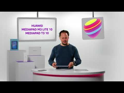 Nya Huawei Mediapad M3 Lite 10 och Mediapad T3 10