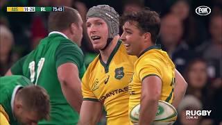 June Test Internationals: Wallabies vs Ireland, Melbourne Highlights