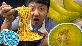 DEVIL RAMEN! SPICIEST Ramen in Japan & $150 MELON!!