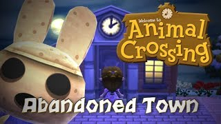Exploring an Abandoned Animal Crossing Game's Town!