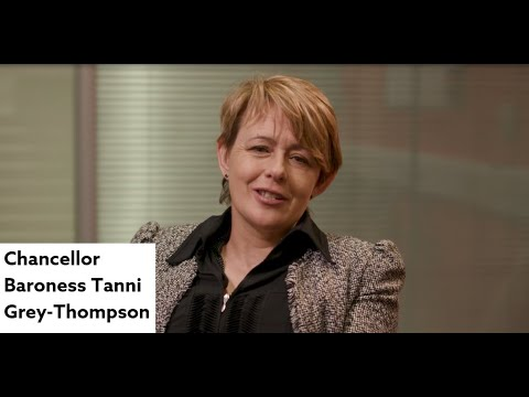 Chancellor Baroness Tanni Grey-Thompson celebrates Northumbria University's many successes