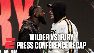 Wilder-Fury Press Conference Recap: It became authentically heated – Mark Kriegel | Boxing on ESPN