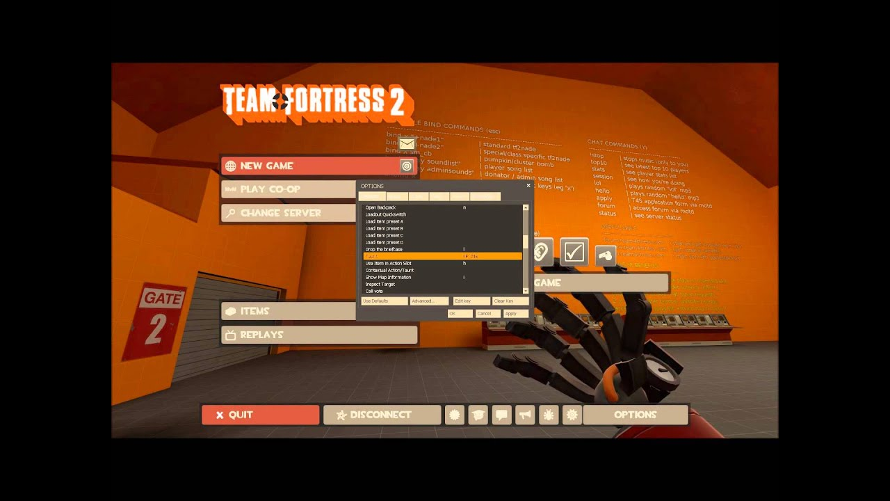 Tf2 Bind Commands Related Keywords & Suggestions - Tf2 Bind