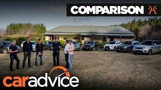 Comparison: 2016 Luxury Family SUV mega-test | CarAdvice