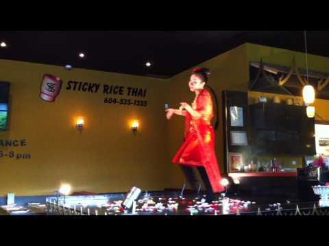 BCRestaurants.ca | BCRestaurants.ca presents Finger Dancing | Sticky Rice | Apinya Chunchoei