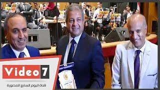 نقابة الصحفيين تكرّم وزير الرياضة في احتفالية quotالعاشر من رمضان ...