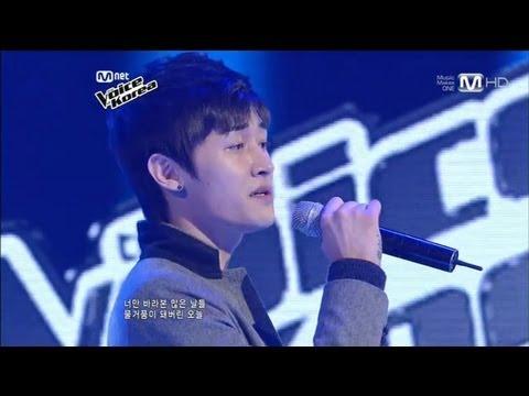 보이스코리아 시즌1 - 샘 구-사랑했잖아(린) 보이스코리아 the voice 1회