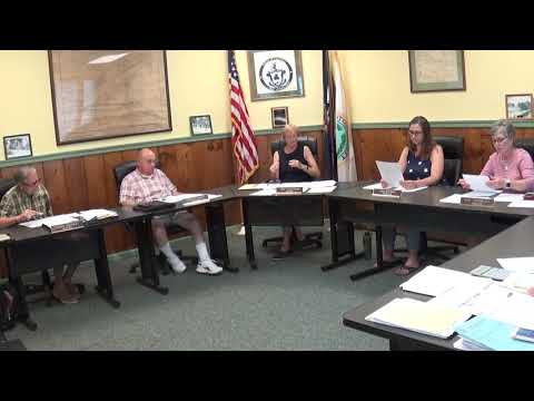 Champlain Village Board Meeting  7-12-21