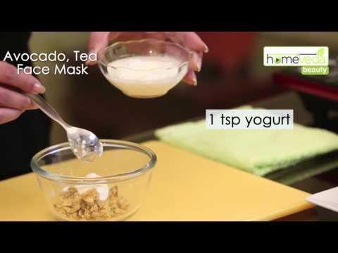 Avocado, Tea Face Mask Best Skin Remedy Ayurveda - Homeveda
