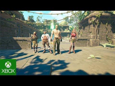 JUMANJI The Video Game - Gameplay Trailer   Xbox