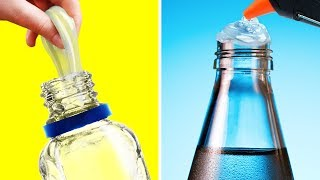 17 HACKS WITH HOT GLUE