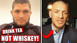 Khabib Responds to Conor McGregor, Michael Chandler on UFC 257 + fighting Conor for 155 title