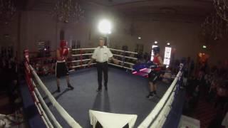 Ultra White Collar Boxing Liverpool | John Otty VS Ben Carlin