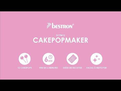Bestron DCPM12 Cake-popmaker (Français)