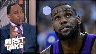 Could LeBron and Kyrie Irving reunite with the Lakers?   First Take