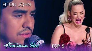 Alejandro Aranda: Katy Perry BREAKS DOWN As Alejandro Rules The Night | American Idol 2019