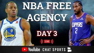 NBA Free Agency LIVE - Day 3: Victor Oladipo, John Collins, Kemba Walker, Spencer Dinwiddie