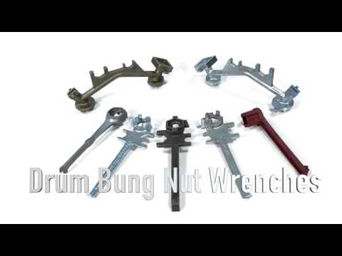 Drum Bung Nut Wrenches Feature Video