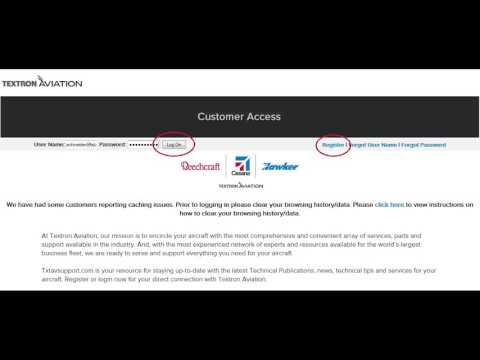 Applying For a Textron Aviation Credit Account