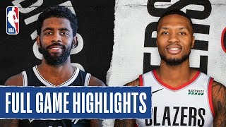 NETS at TRAIL BLAZERS | FULL GAME HIGHLIGHTS | November 8, 2019