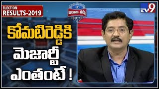 Komatireddy Venkat Reddy wins over TRS!..