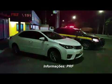 Veículo roubado há quase dois anos é recuperado pela PRF na região