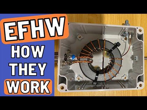 Explaining End Fed Half Wave Antennas & Experimentation