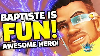 Baptiste is AWESOME! Overwatch NEW Support Hero is INSANE!!!