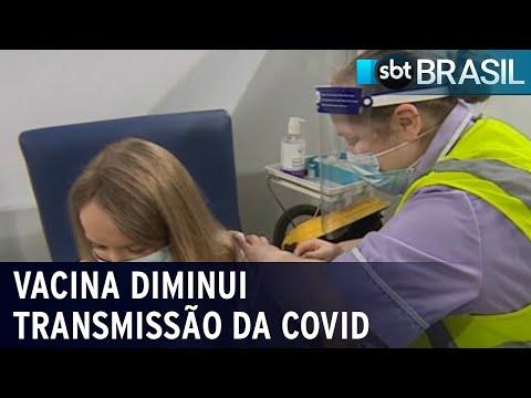 Vacina contra covid diminui taxa de transmissão do vírus | SBT Brasil (16/07/21)