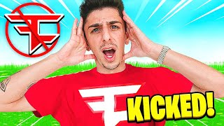 KICKING FAZE RUG FROM FAZE (PRANK)
