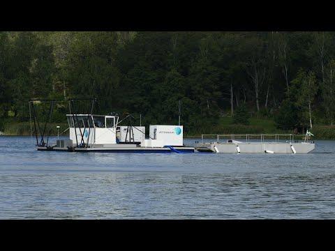 Bottenbehandling av sjön Norrviken - trailer