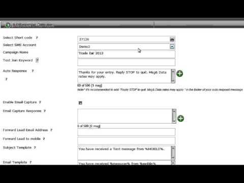 SMS Autoresponder: A SMS marketing software
