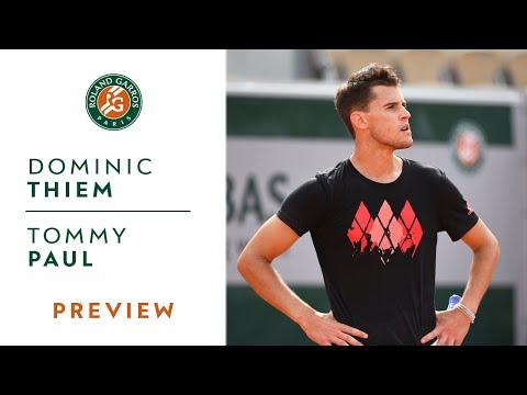 Dominic Thiem vs Tommy Paul - Round 1 Preview | Roland-Garros 2019