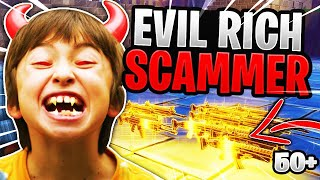 Evil Rich Scammer Loses 53 Nocturnos! (Scammer Gets Scammed) Fortnite Save The World