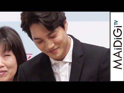 EXO・カイ、主演ドラマのシャワーシーンに照れる 「連続ドラマW 春が来た」舞台あいさつ2