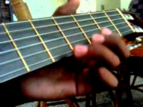 como tocar dragon ball gt en guitarra acustica