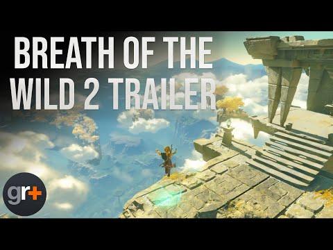 The Legend of Zelda Breath Of The Wild 2 Trailer