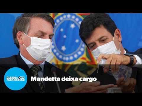 Mandetta é demitido do Ministério da Saúde em meio à pandemia