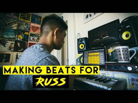 Making Beats For: Russ | (Using Ableton Live)